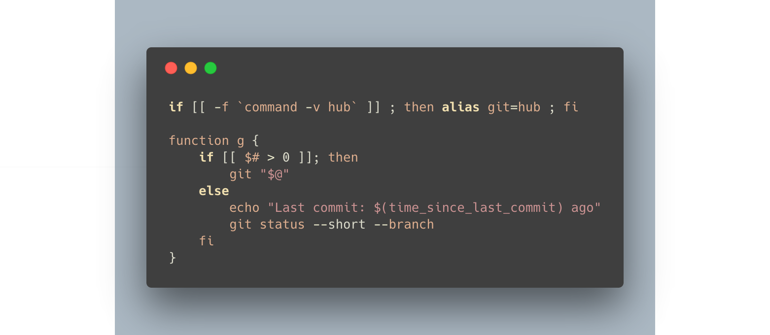 Extending the command line