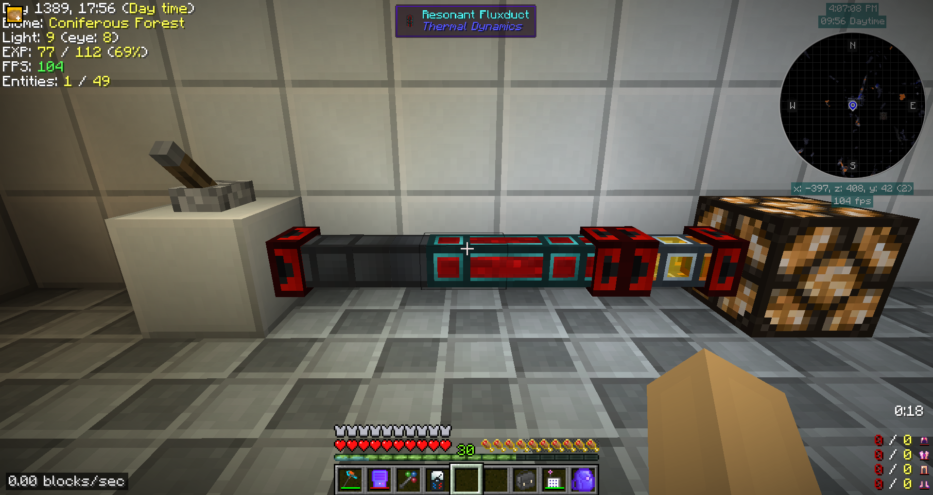 Redstone Relays Cannot Signal Cross Grid Is There A Workaround Power Relay Minecraft 2018 01 03 16 07 08