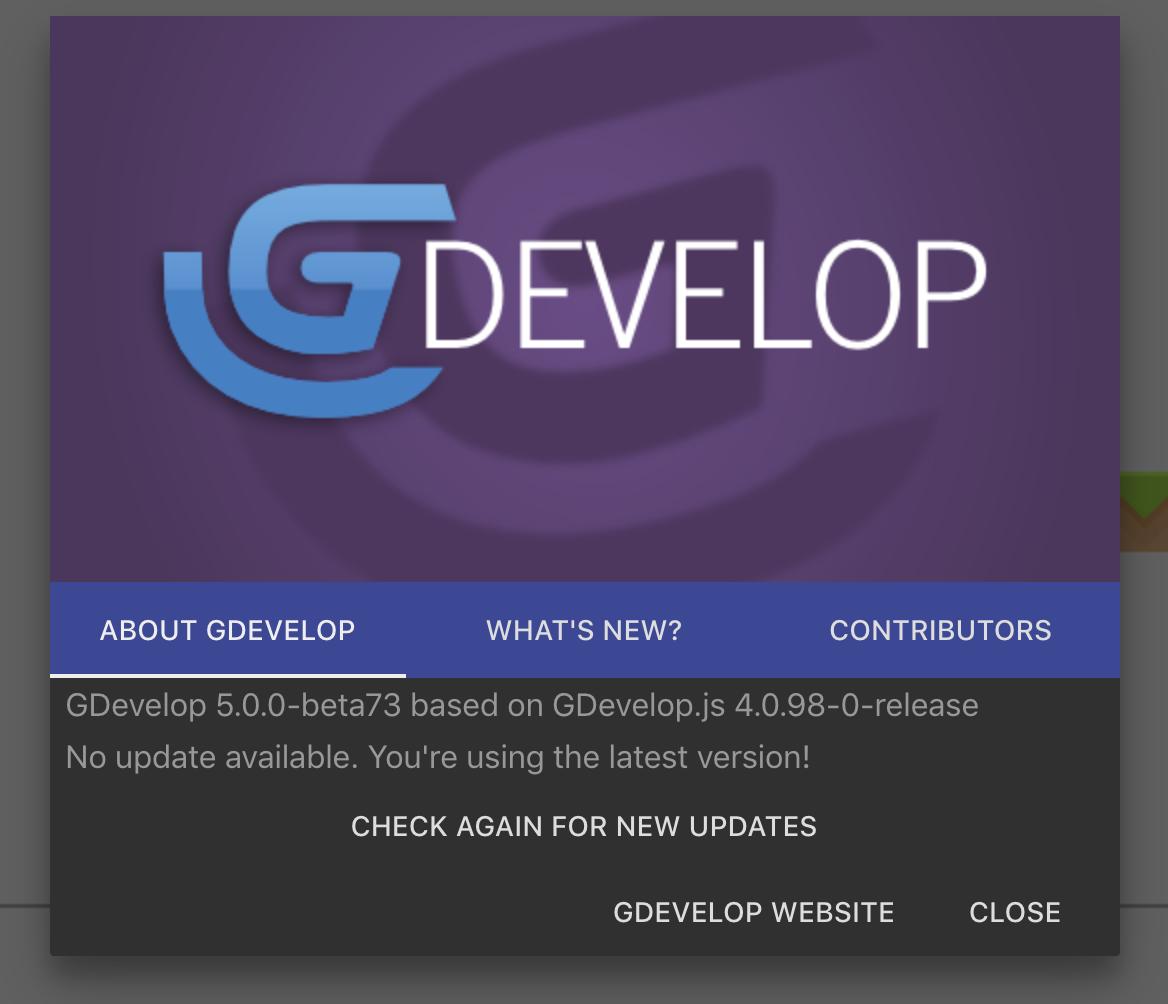 GDevelop - Bountysource