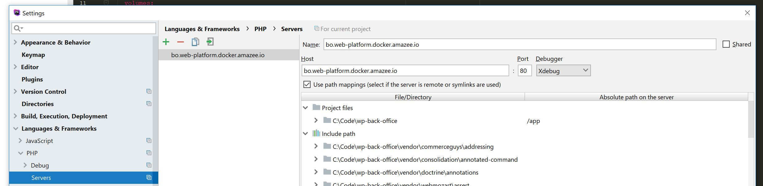 phpstorm_servers