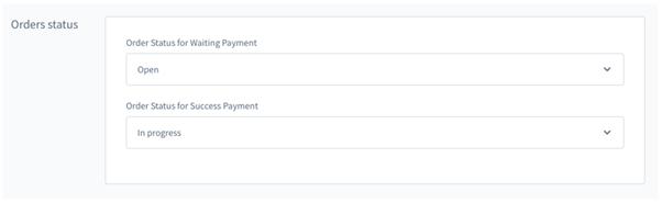 Automatyczny status zamówienia dla płatności oczekującej oraz zakończonej