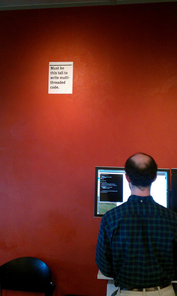 You have to be this tall to write concurrent code