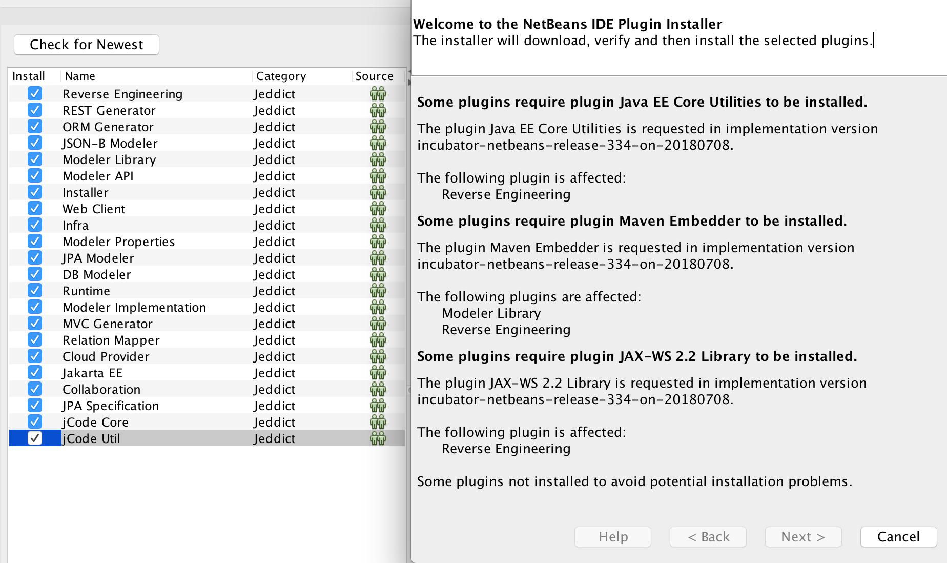 NetBeans 9 installation issue · Issue #286 · jeddict/jeddict · GitHub