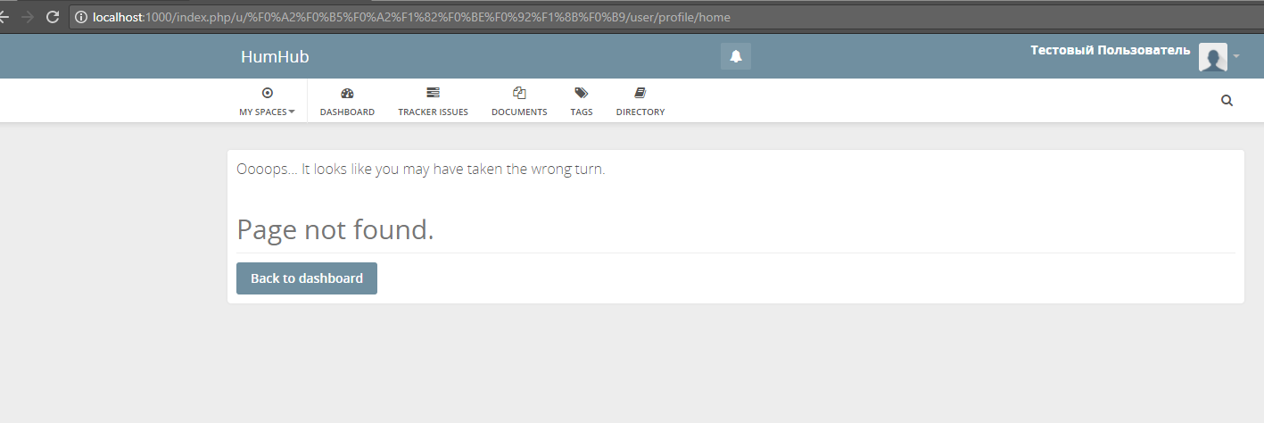 username encoding with pretty url · Issue #2613 · humhub/humhub · GitHub
