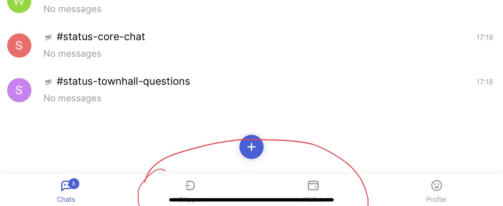 Black bar overlaps the bottom tab panel [on iPad Pro