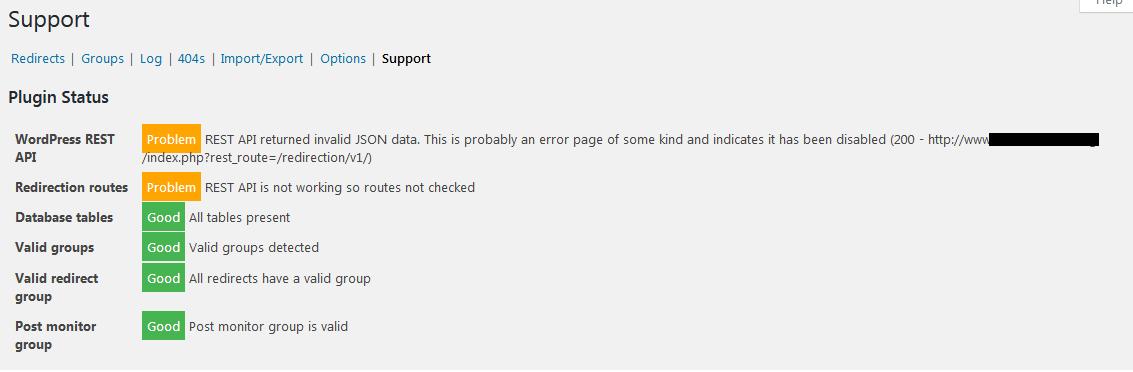 Redirection Error due to 403 Error on /wp-json/ · Issue #799