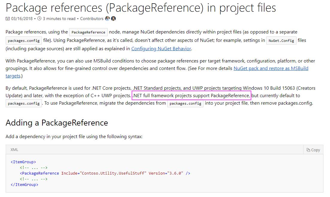 Creating unit test project using  NET Framework template