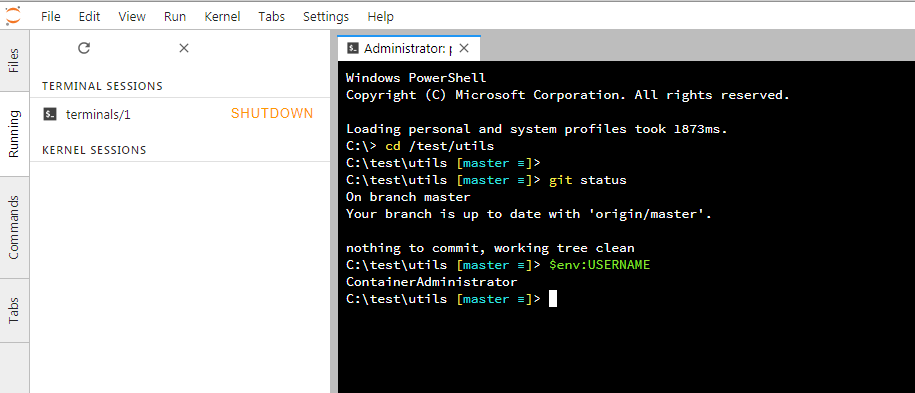 Starting a terminal fails (Windows 7) · Issue #3647