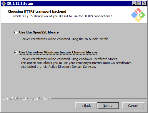 Credential Manager doesn't work in Windows Containers with BusyBox