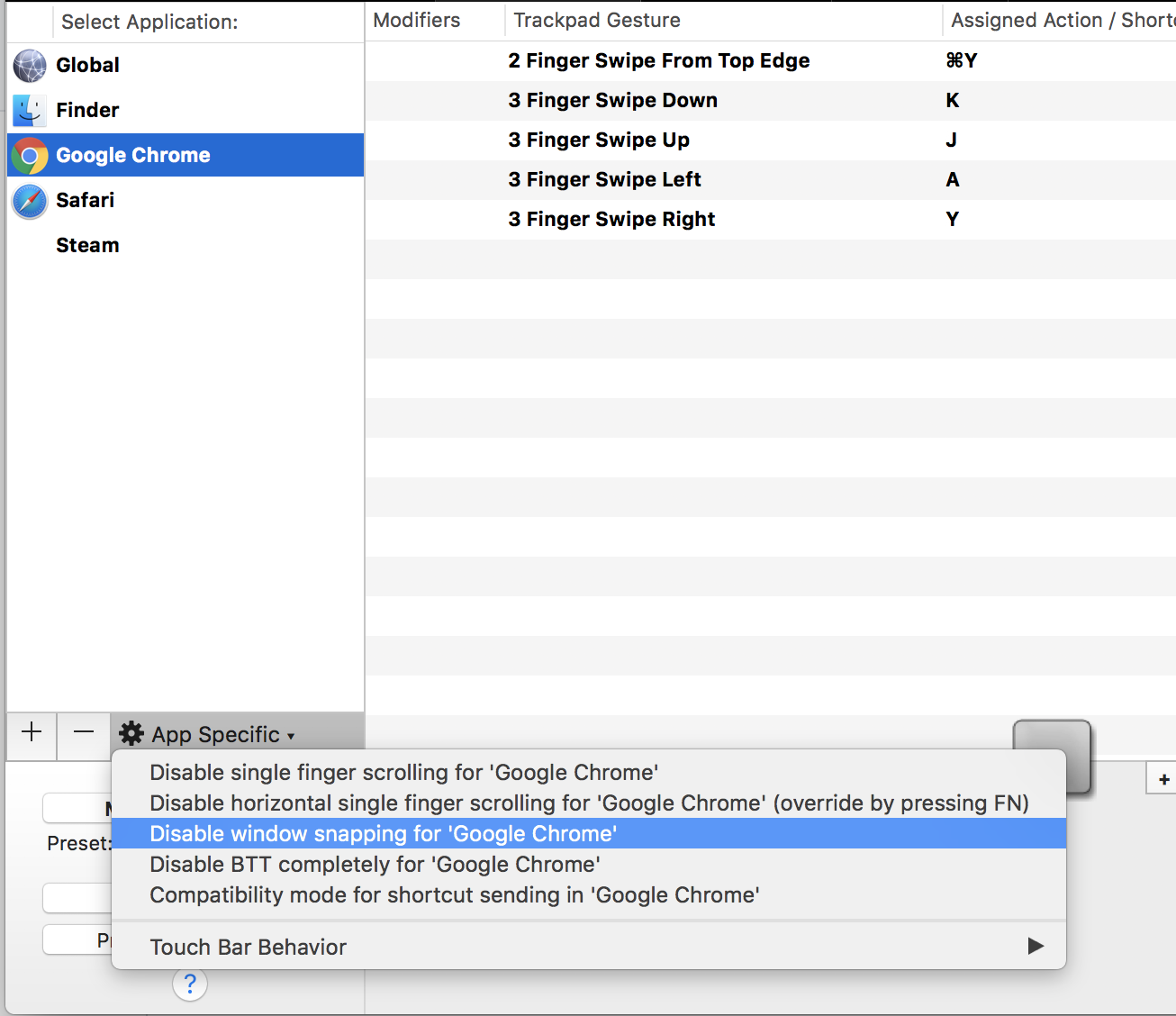 Window Snapping: Interfering with full-screen games/apps