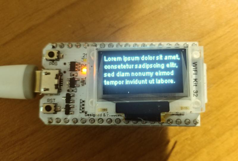 OLED support · Issue #186 · luc-github/ESP3D · GitHub