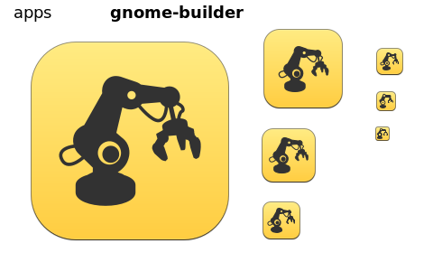 Gnome Builder Preview · Issue #373 · snwh/moka-icon-theme