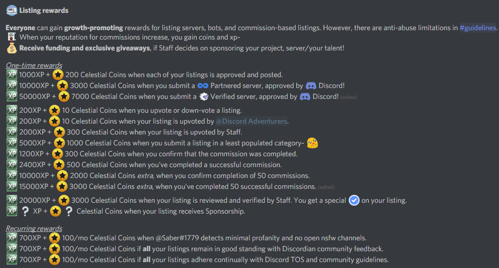 Rewards module - Version 1 0 · Issue #4 · TriAce/Saber · GitHub