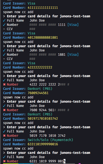 Diner's Add' Work now-cli 698 Club amex · lt; Doesn't Zeit Numbers 16 Digit Visa Some With Github Card Credit Etc 'now Cc Issue