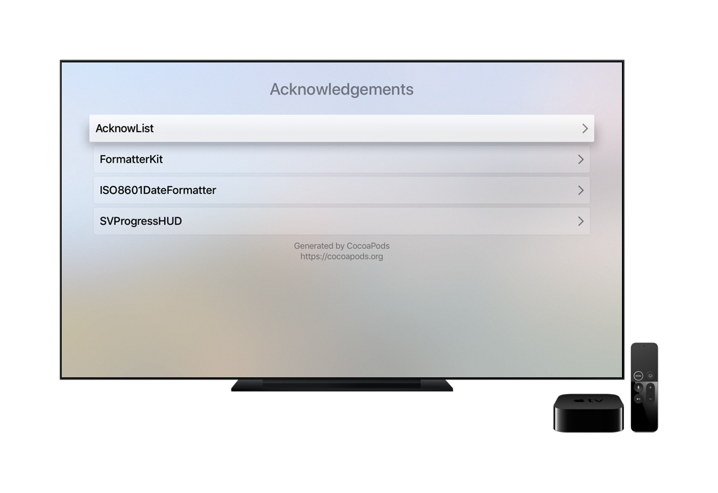 Apple TV screenshot 1
