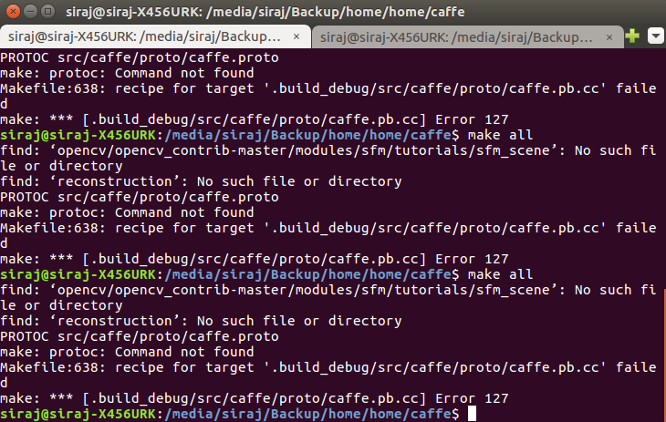 Caffe Compilation error with opencv-3 3 0 · Issue #5970