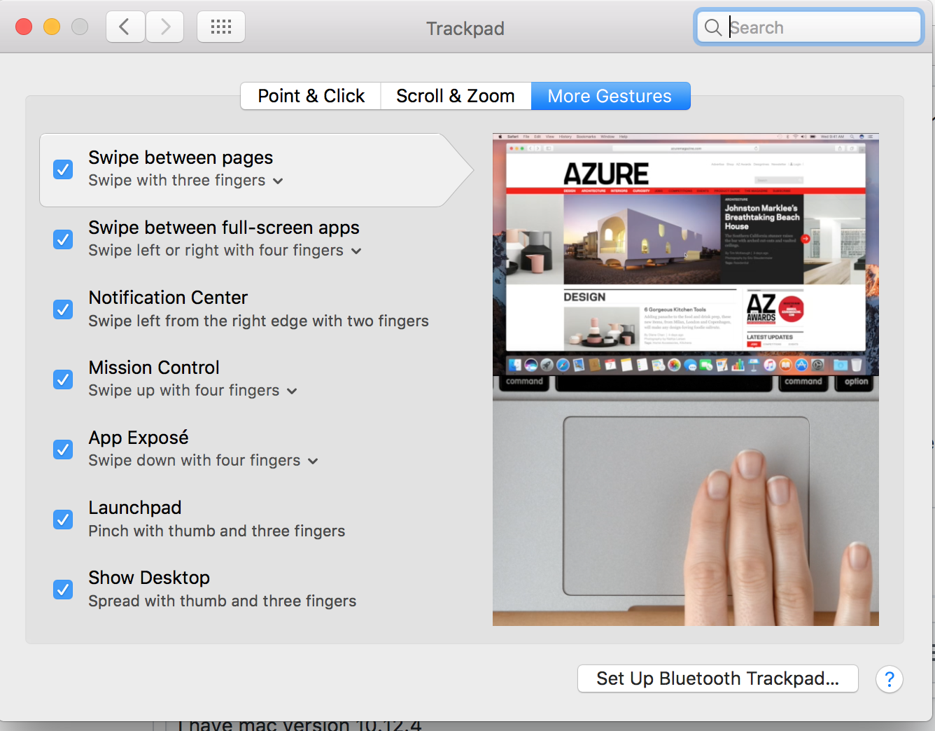 Macbook trackpad gestures not working  · Issue #9845 · brave