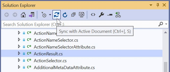 Sync with Active Document