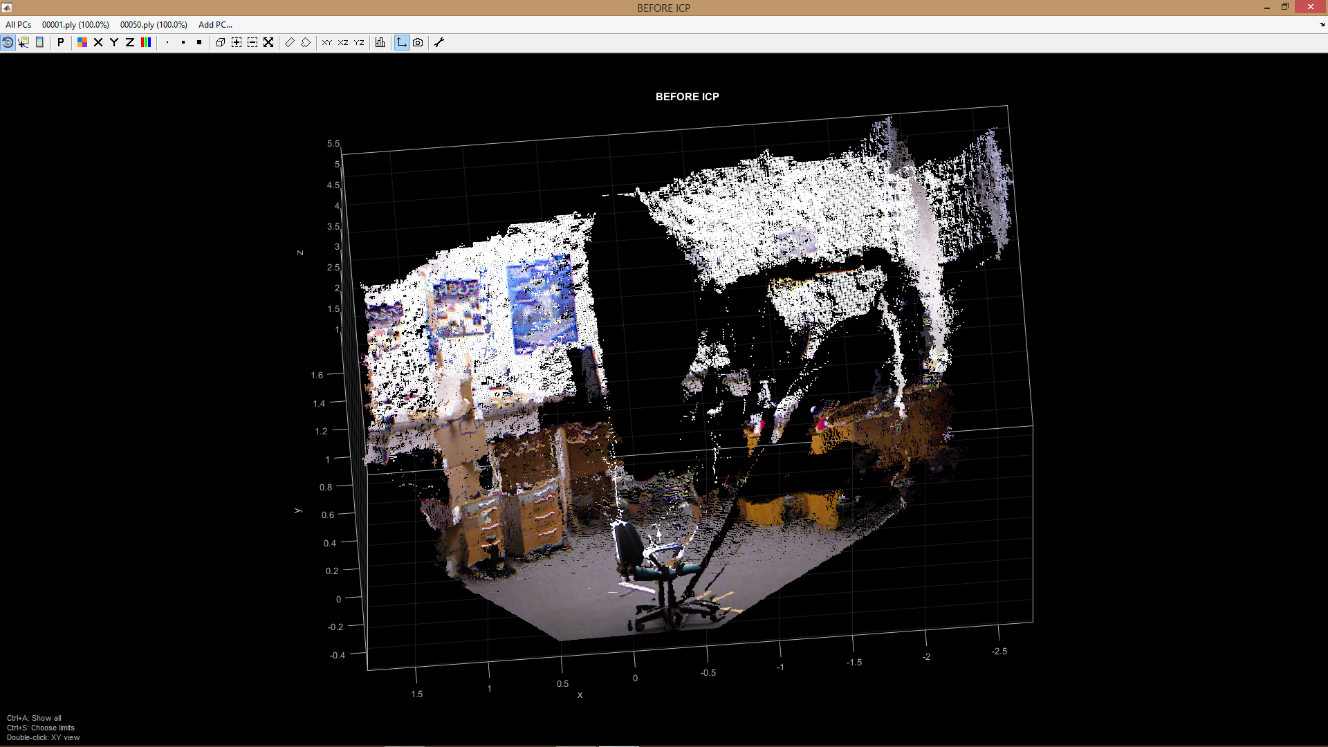 GlobalICP Kinect v1 Point Cloud Data · Issue #5 · pglira