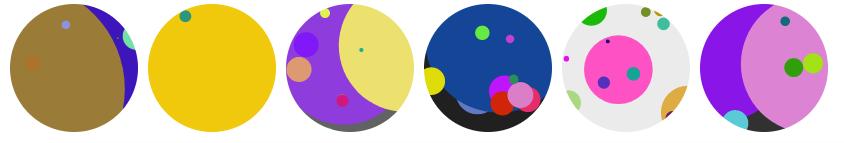 Discs style identicons