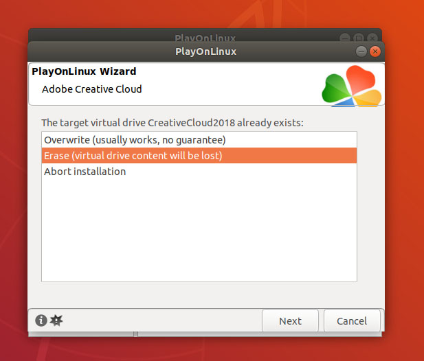 the installer stop on latest ubuntu throwing some messages