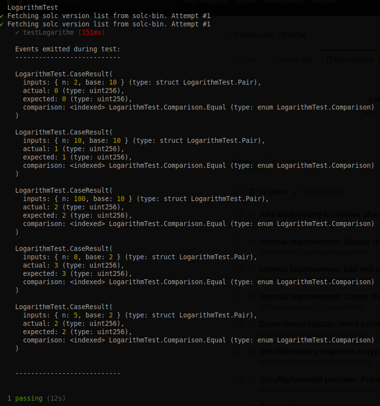 Test Terminal Sample