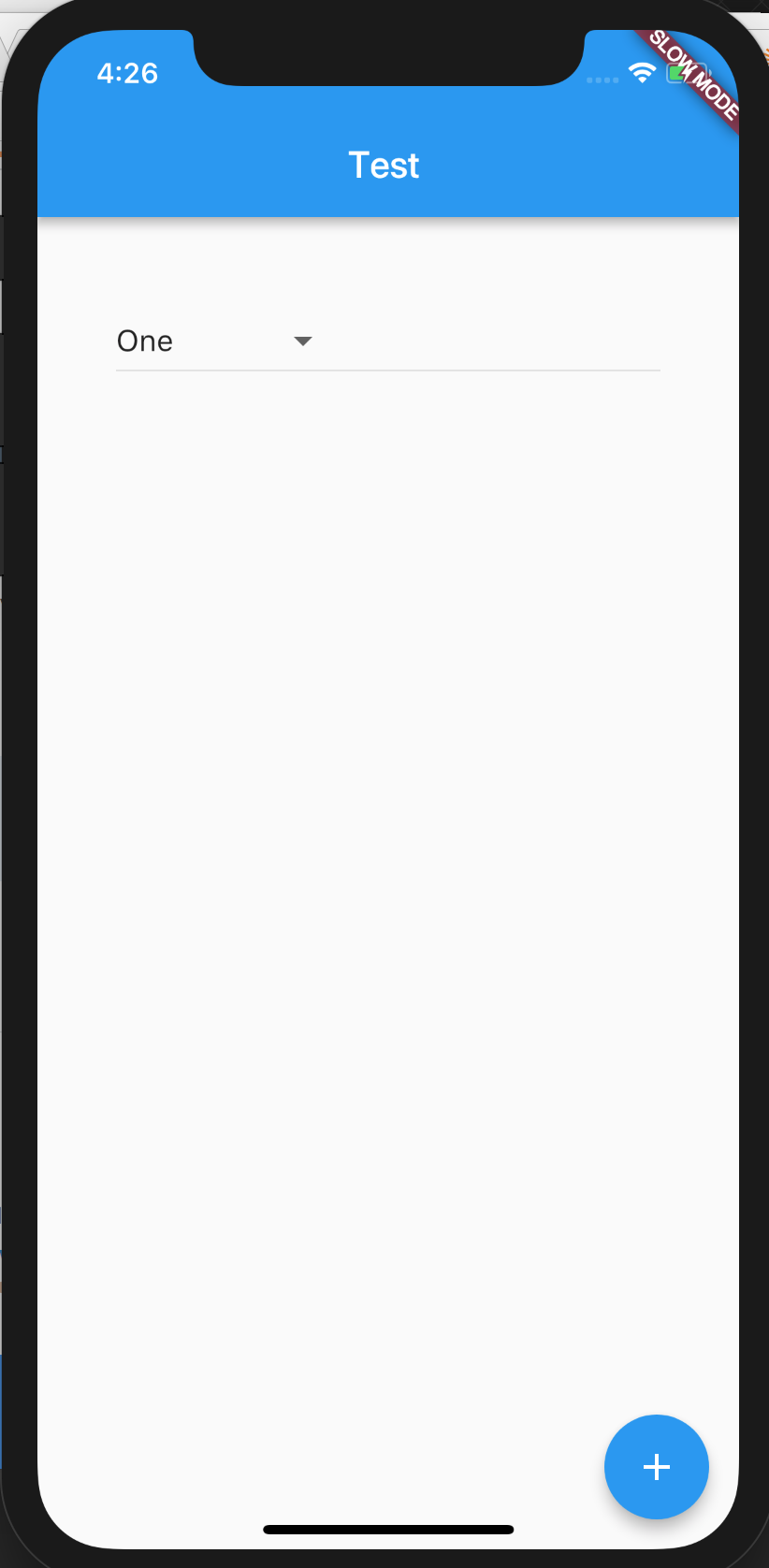 Document that showDialog creates new context and that