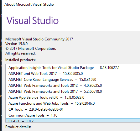 Visual Studio Failing to Install Latest CLI runtime · Issue #3759