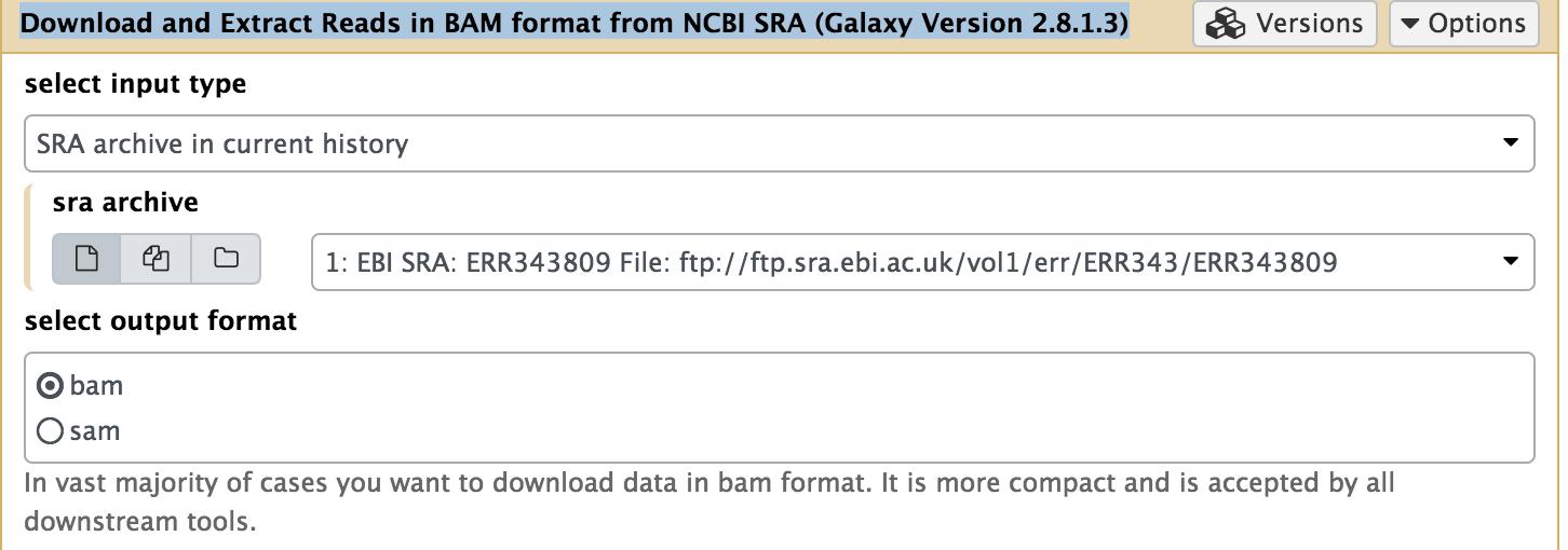 NCBI SRA tool fastq-dump fails when extracting BAM from SRA