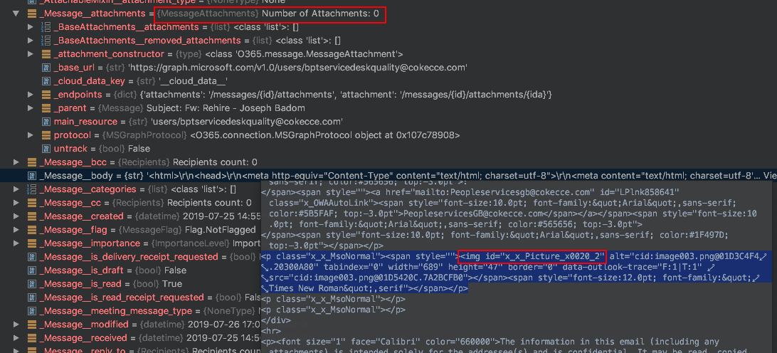 O365 ( Python O365 )