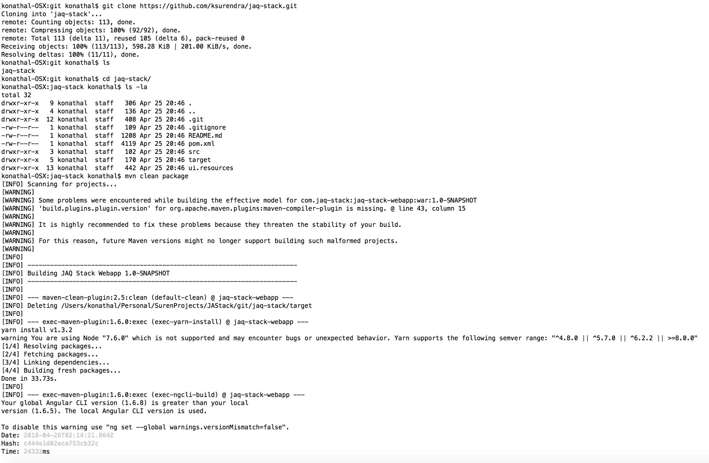 jaq-stack-sample-build-screen1