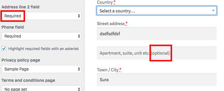 Optional Text Is Very Confusing For Users And Admin In Address Line 2 Field In Checkout Form Issue 20621 Woocommerce Woocommerce Github
