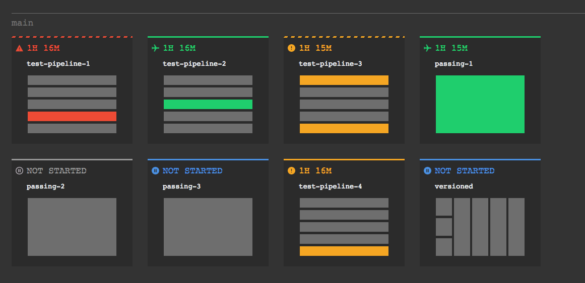 New color theme for multi-pipeline view · Issue #1621