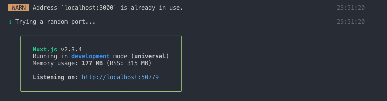 Release Notes - Nuxt js
