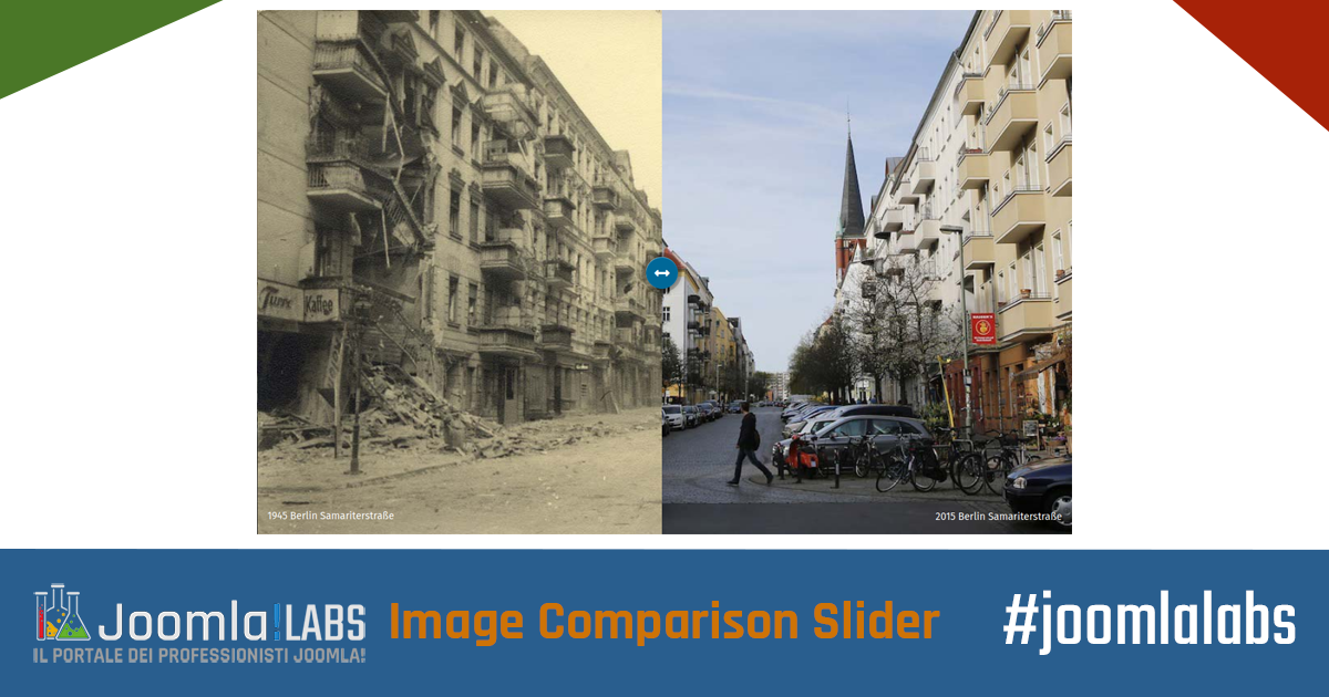 Joomla!LABS Image Comparison Slider Module