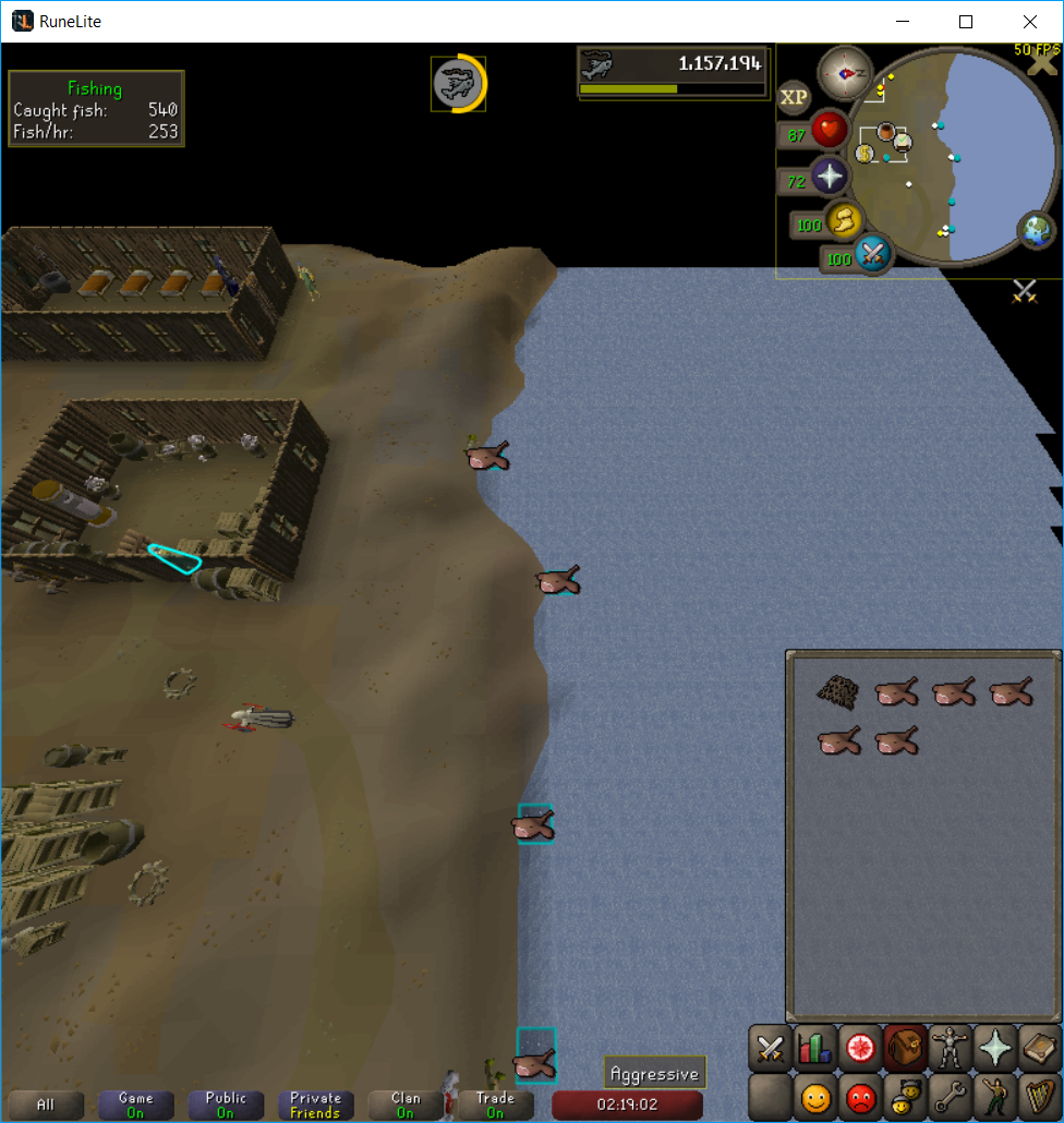 Scale size of fish marker in fishing spot with zoom level