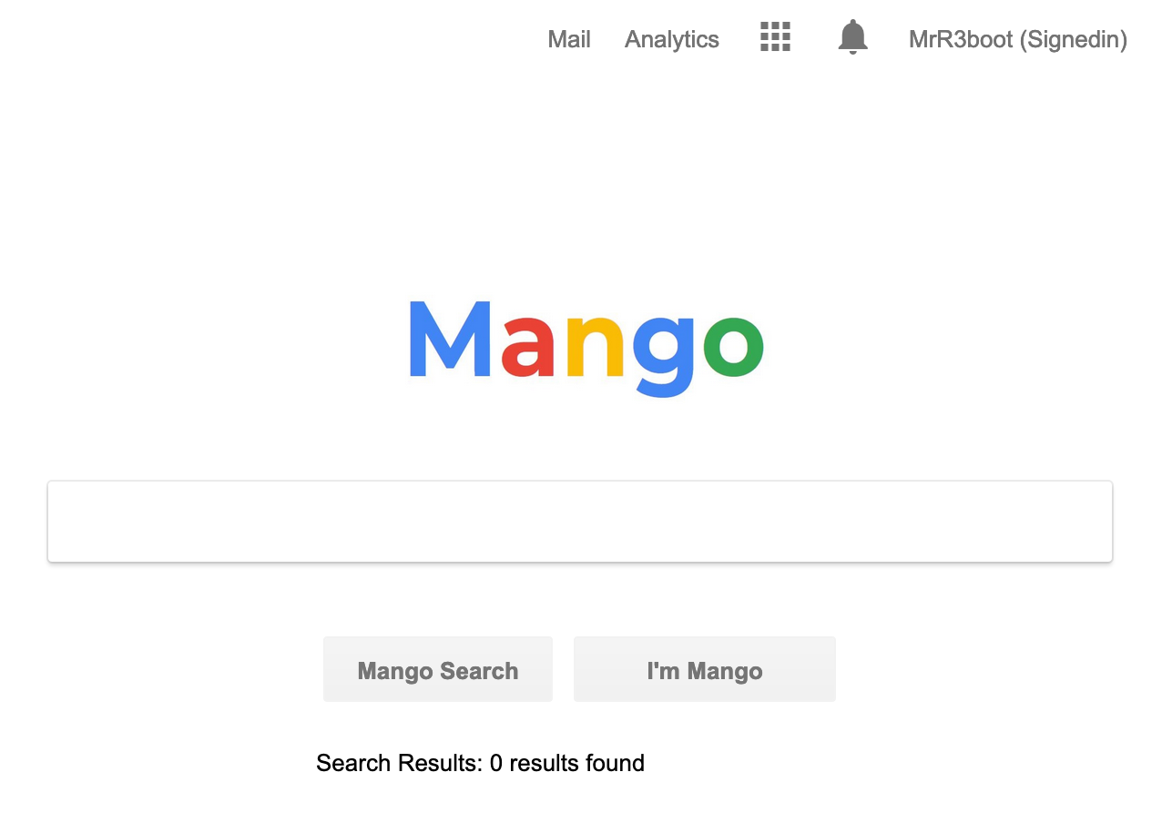 mango search engine