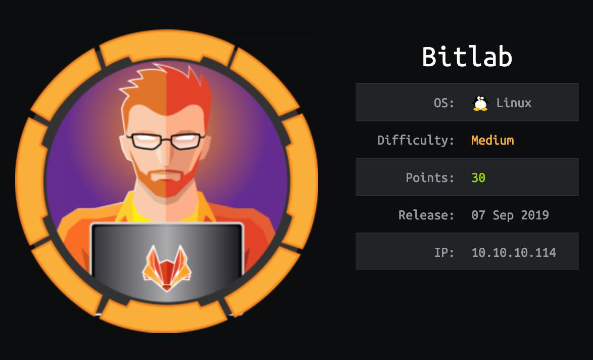 bitlab-hackthebox
