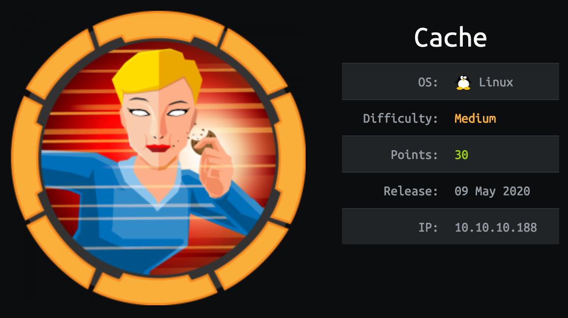 cache-hackthebox