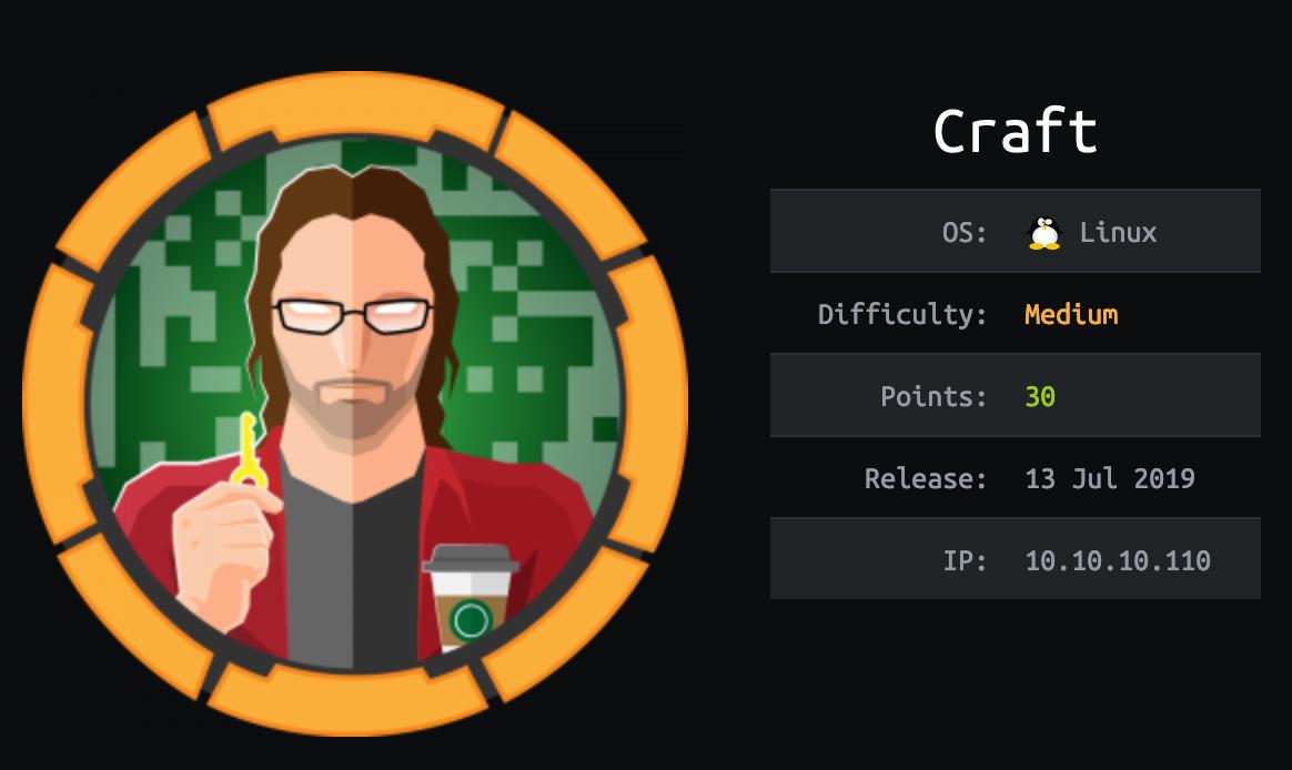 craft-hackthebox
