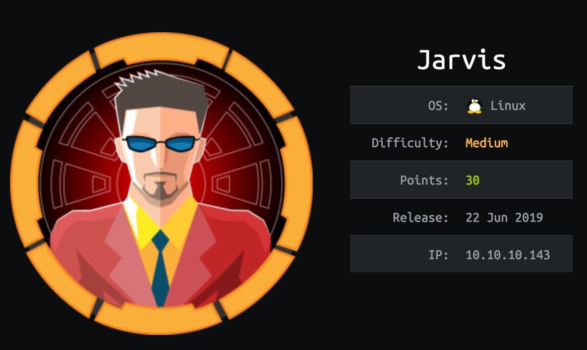 jarvis-hackthebox