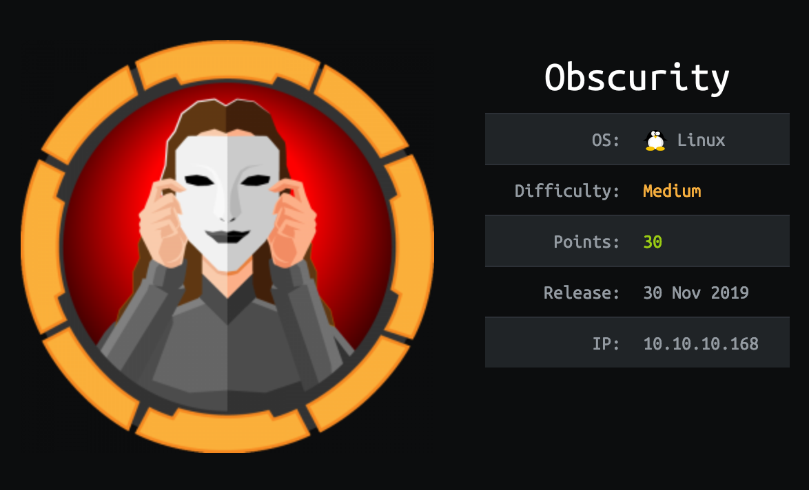 obscurity-hackthebox