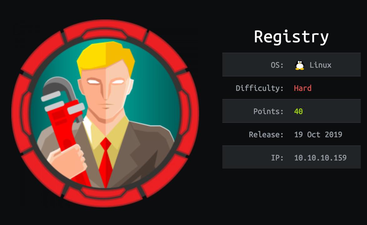 registry-hackthebox