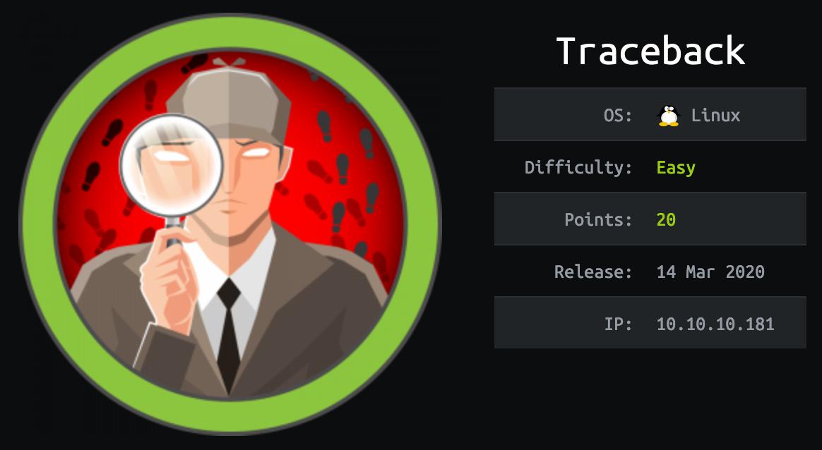 traceback-hackthebox