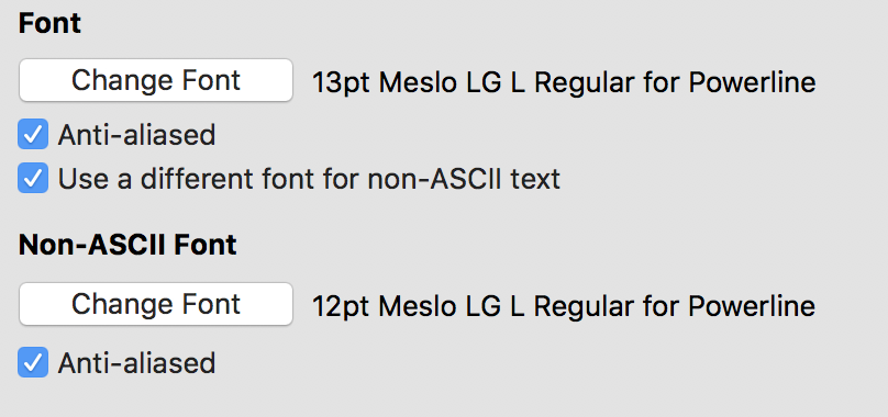 Icons not working on mac · Issue #248 · powerline/fonts · GitHub
