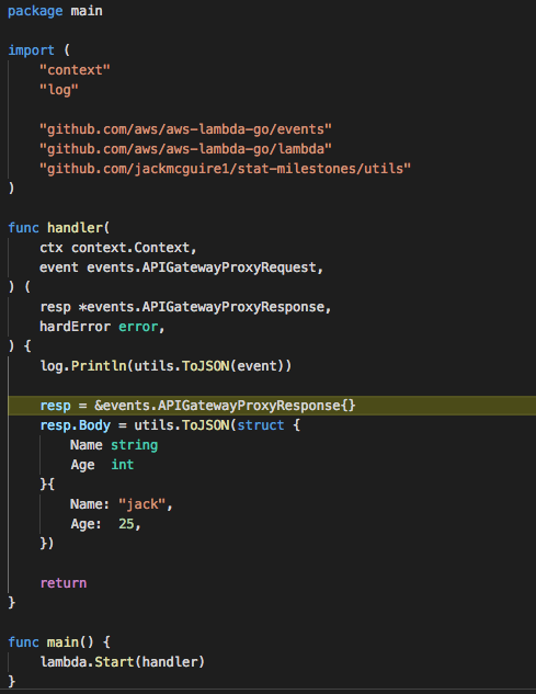 Golang lambda can't hit breakpoints in VSCode · Issue #1310