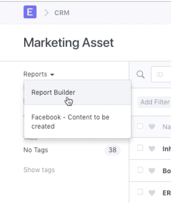 Report Builder - New report visible in the list after a refresh only