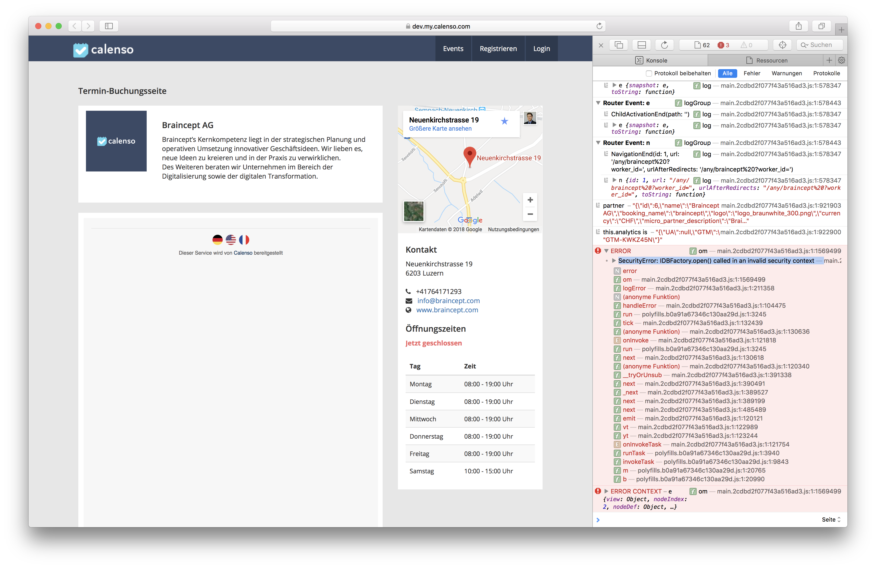 IndexedDB restricted in cross-origin iframes in Safari · Issue #42