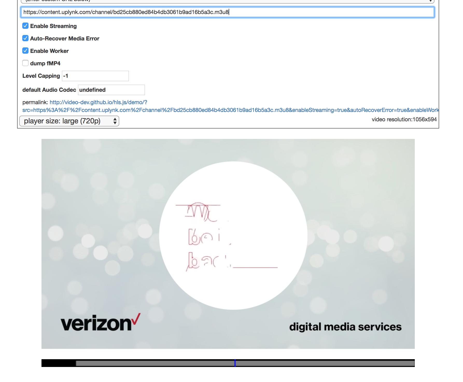 Live HLS over Chromecast · Issue #67 · mediaelement