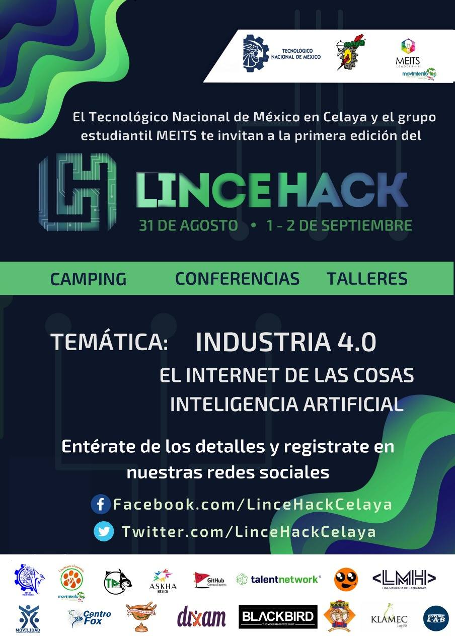 LinceHack Poster